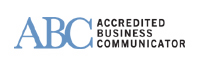 ABC logo, links to International Association of Business Communicators