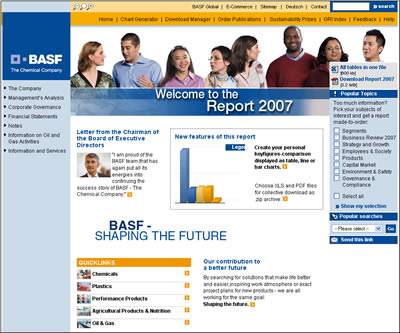 BASF Annual Report 2007