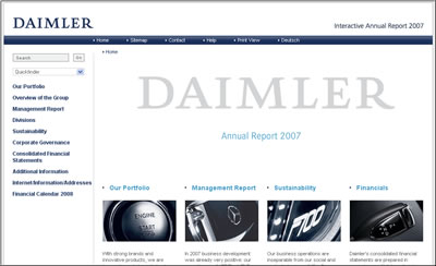 Daimler 2007 Annual Report