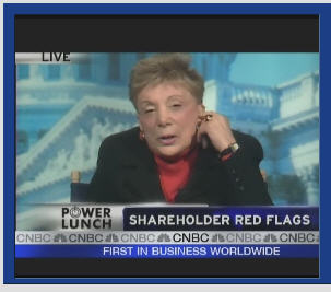 Evelyn Davis on CNBC
